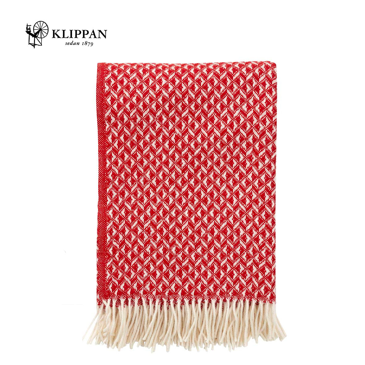 KLIPPAN Anna Woollen Throw, 130x200cm