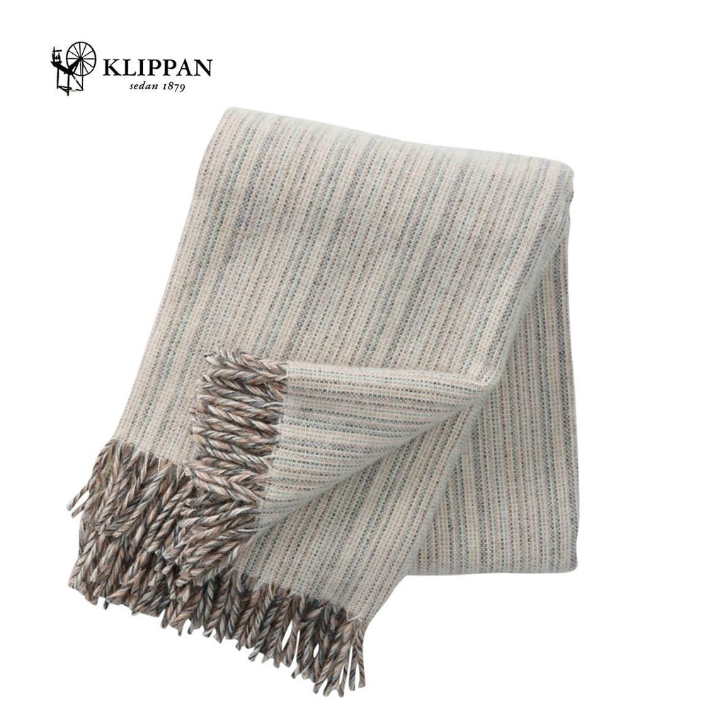 KLIPPAN Bjork Woollen Throw, 130x200cm