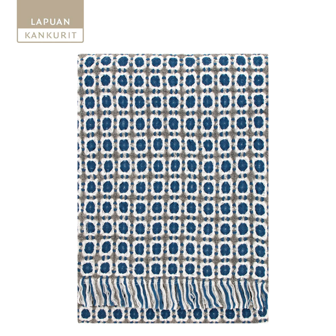 LAPUAN KANKURIT Corona Woollen Throw, 130x170cm