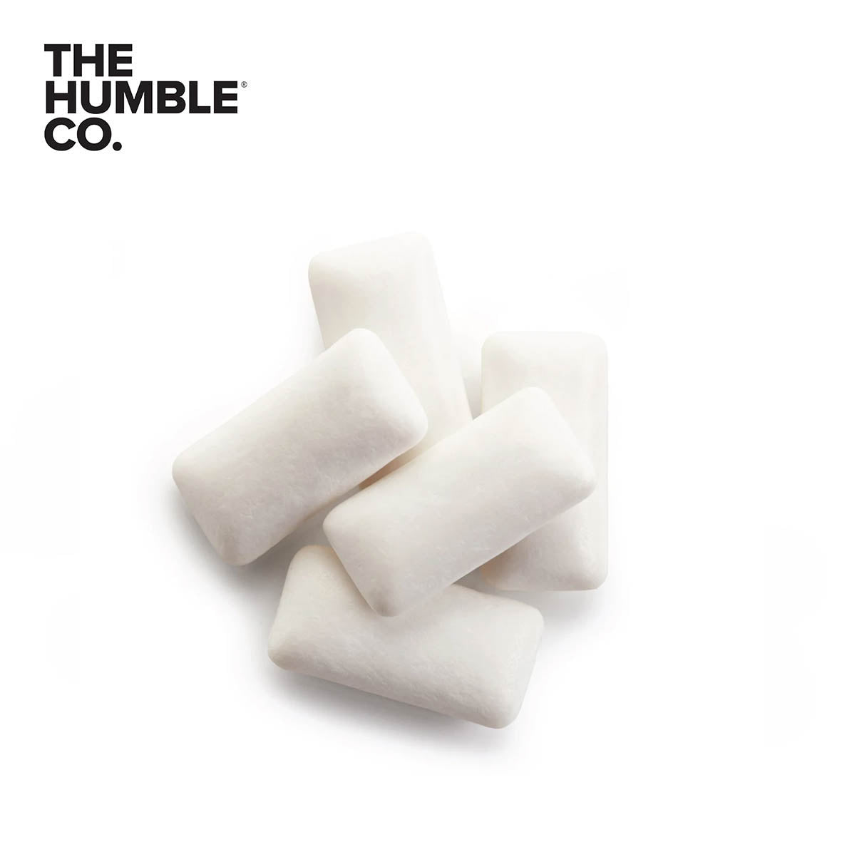 THE HUMBLE CO.  Chewing Gum with Xylitol, Salty Liqourice