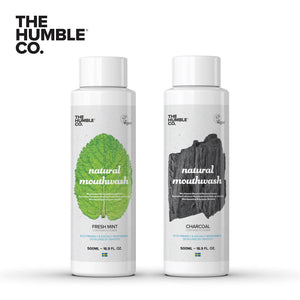 THE HUMBLE CO. Mouthwash 500ml with Flouride