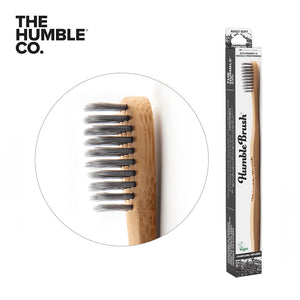 HUMBLE BRUSH Bamboo Toothbrush Adults, Soft
