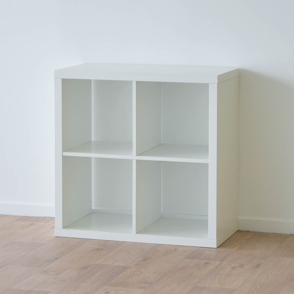IKEA Kallax 2x2 Shelving unit, 77x77cm, White