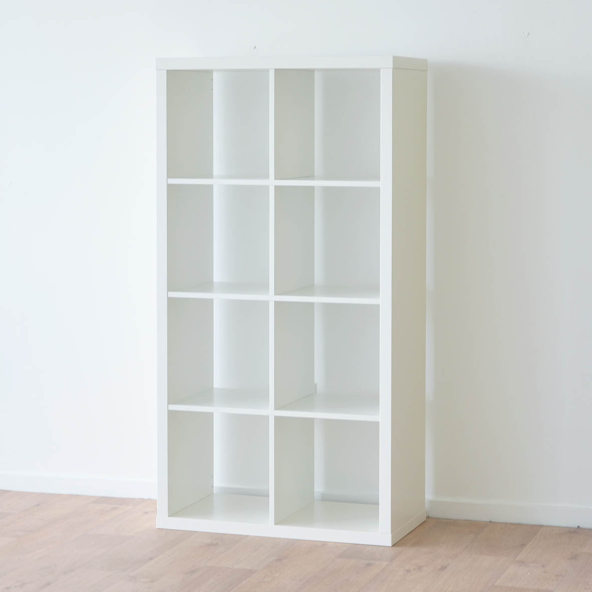 IKEA Kallax 2x4 Shelving unit, 77x147cm, White