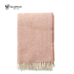KLIPPAN Freckles Woollen Throw, 130x200cm