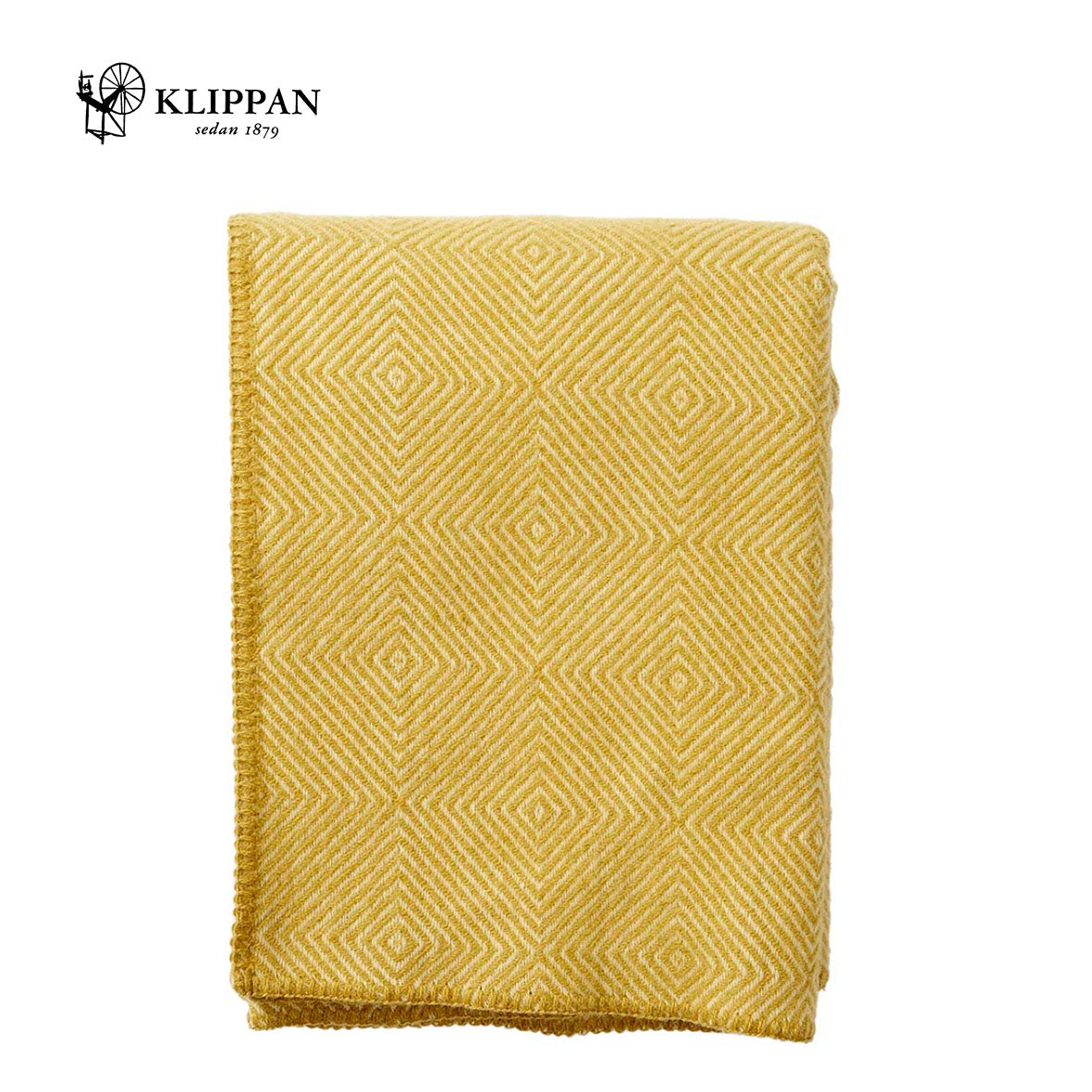 KLIPPAN Nova Woollen Throw, 130x180cm