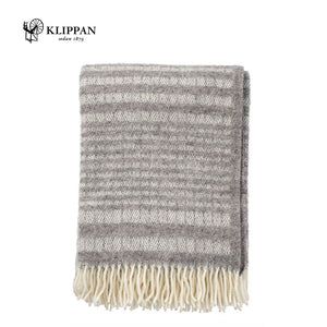 KLIPPAN Roy Woollen Throw, 130x200cm