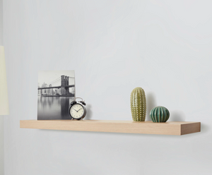 IKEA Lack Floating Shelf 110x26cm, White Stained Oak