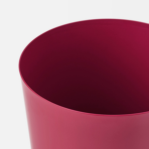 IKEA Omfang Plant Pot, Dark Red