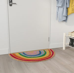 IKEA Pillemark Door Mat, Rainbow