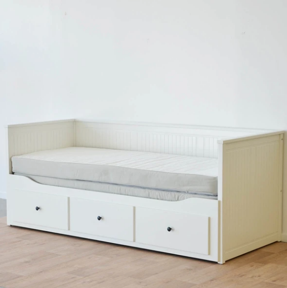IKEA HEMNES Day Bed with Storage including Mattress 80x200 cm x 2