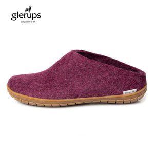 GLERUPS The Slip On - Honey Rubber Sole