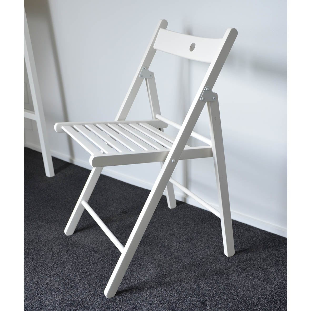 Folding Chair Ikea Terje White Airspa In