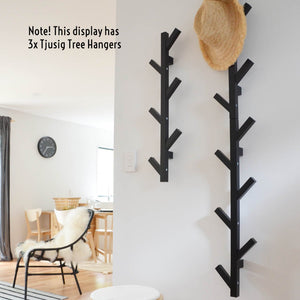 IKEA TJUSIG Tree Coat Hanger