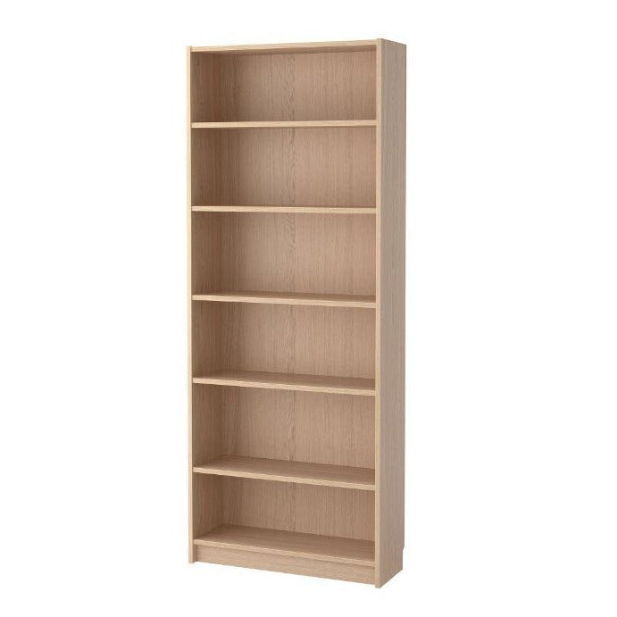 IKEA Billy Bookcase 80x28x202cm, White Stained Oak