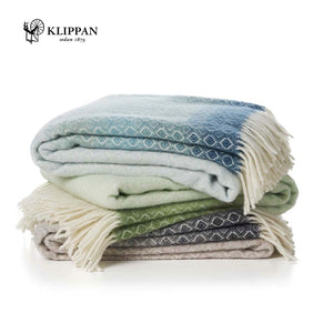 KLIPPAN Havanna Multi  Woollen Throw, 130x200cm