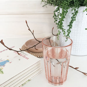 IKEA Pokal Drinking Glass, Rose