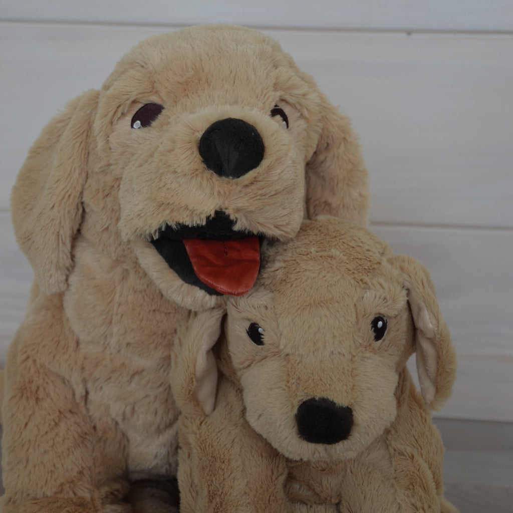 IKEA Gosig Golden Retriever Dog Soft Toy