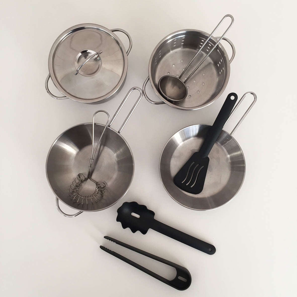 IKEA Duktig Kids Pots and Pans, Set of 4