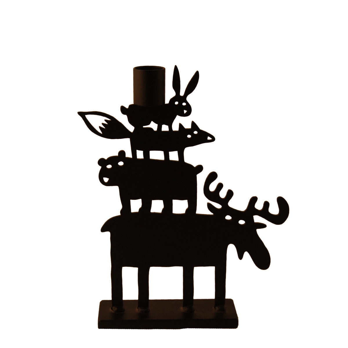 BENGT & LOTTA Moose Pyramid Small Candle Holder