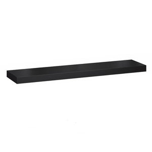 IKEA Lack Floating Shelf 110x26cm, Black/Brown
