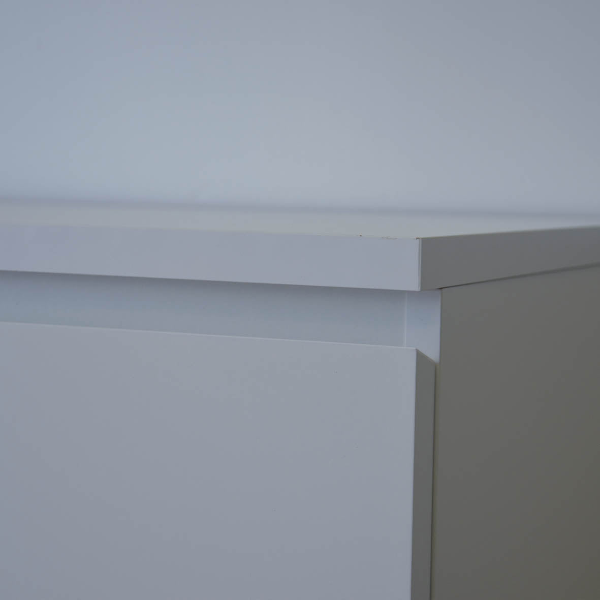 IKEA MALM 4-Drawer Chest, 80x48x100cm, White