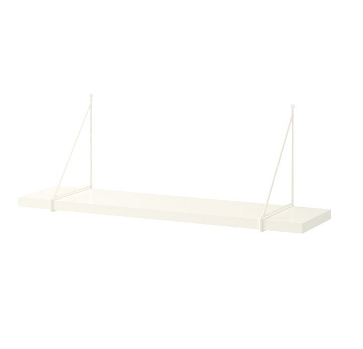 IKEA Bergshult/Pershult Combo 3xShelf and 6xBracket, 80x20cm
