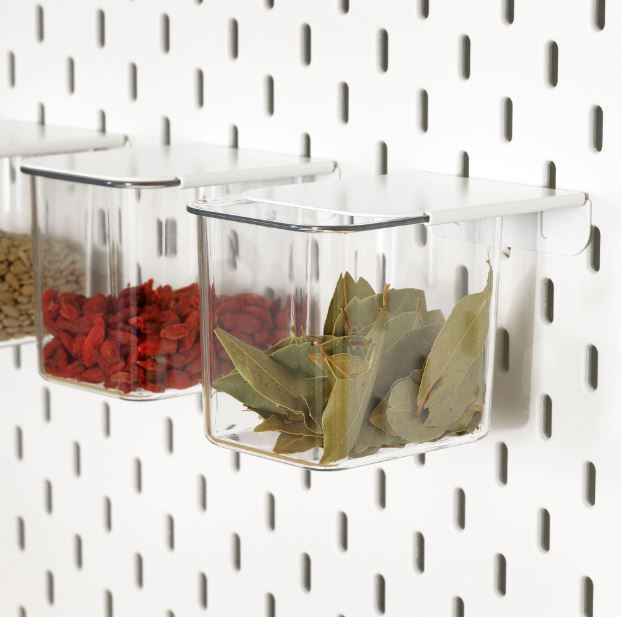 IKEA Skadis Container with Lid 3-Pack