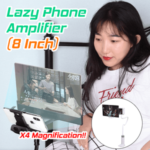 8''Lazy Phone Amplifier [X4 MAGNIFICATION]