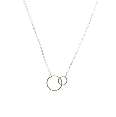 Gold Circle Pendant Friendship Necklace  ?id=5894036881451