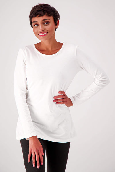 The Slim Fit Organic Cotton Long Sleeve Tee - The Good Tee