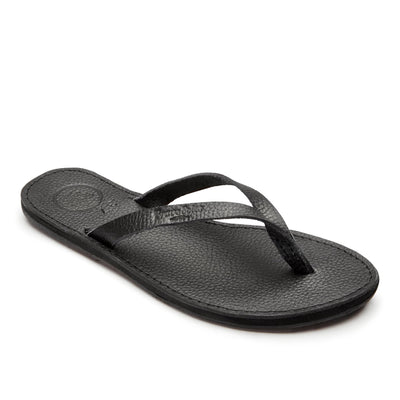 leather womens flip flop
