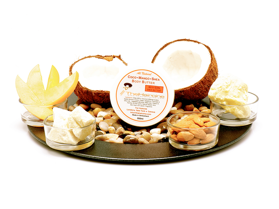 The Hairoine's Whipped Coco-Mango-Shea Body Butter