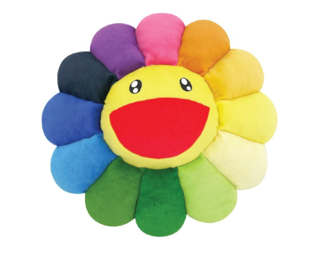 Takashi Murakami - Flower Plush Multicolor