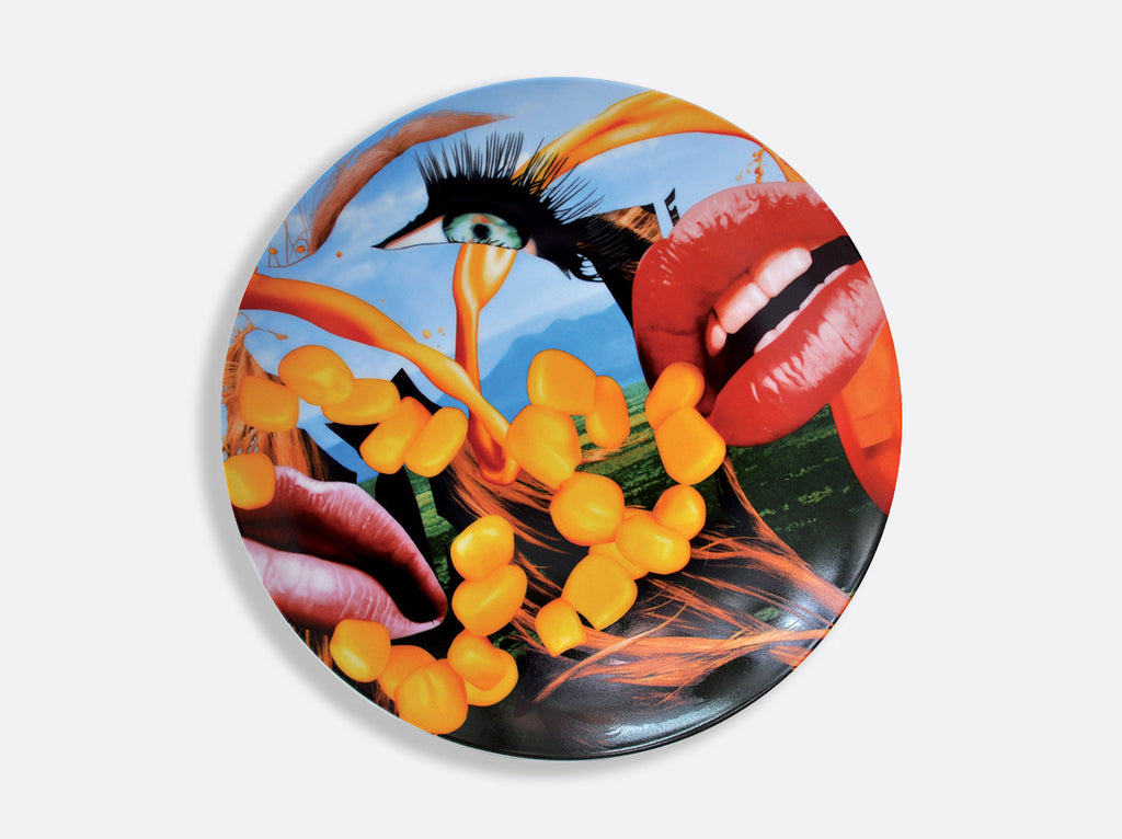 Jeff Koons - Coupe Lips