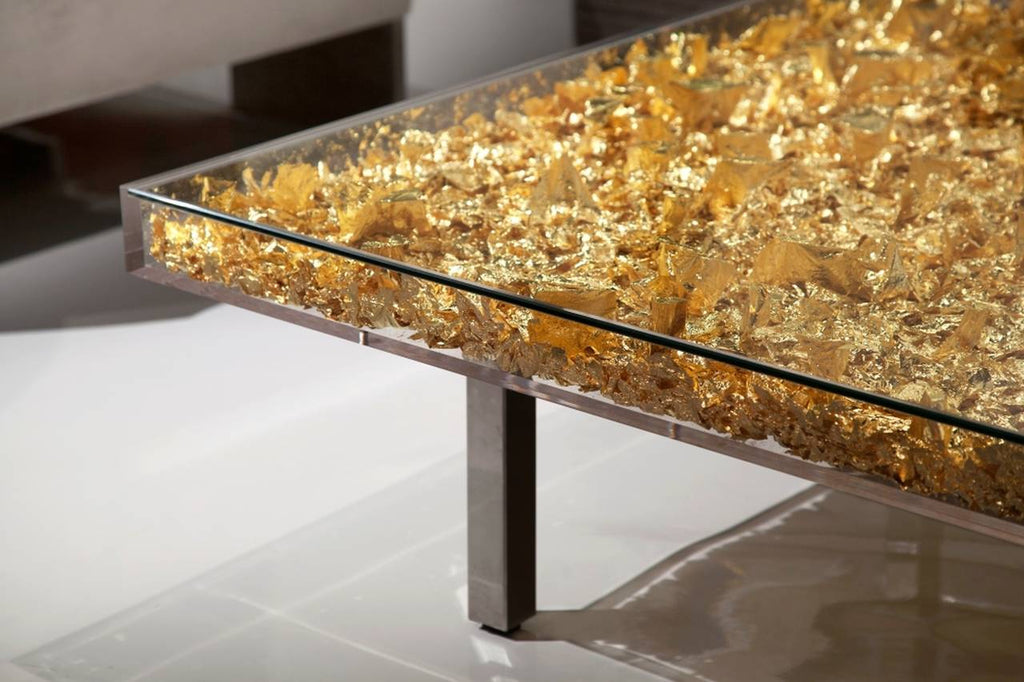 Yves klein - Table Monogold TM