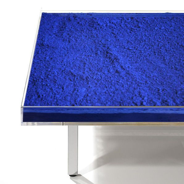 Yves klein - Table bleue Klein TM