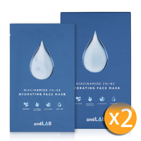 andLAB Hydrating Face Mask 2 盒