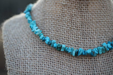 Load image into Gallery viewer, Turquoise Gemstone Chip Necklace - Meg's Mystics