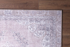 SAFA | Turkish rug, Neutral, Faded, Oriental, Traditional, Bohemian, Vintage looks, Hand-knotted texture, Minimalist, Home decor, Poudre