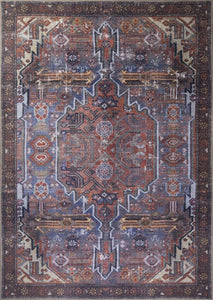LAYSA | Turkish rug, Vintage Distressed looks, Faded Neutral Area rug, Bohemian, Floral, Home decor, Mid-century, Oriental Rustic Tribal Rug