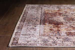 AISHA | Heriz Design, Oriental rug, Persian Pattern, Antique Hand knotted looks, Faded, Distressed, Area rug, Luxury Home decor, Hariz Rugs