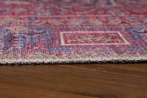 SARA | Antique Persian Heriz Pattern Red Oriental Rug, Hand-knotted texture, Traditional Mid-century Modern, Area Rugs, Tribal Ethnic Carpet