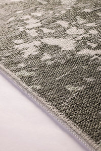 MAKA2 | Reversible Rug, Washable, Double Sided, Flatweave, Modern Runner Rug, Two side, Room Decor, Gray, Luxury look, Washable Rug, Kilim