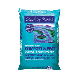 Coast of Maine 'Penobscot Blend' Compost & Peat Complete Planting Mix