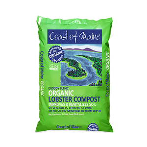 Coast of Maine 'Quoddy Blend' Organic Lobster Compost