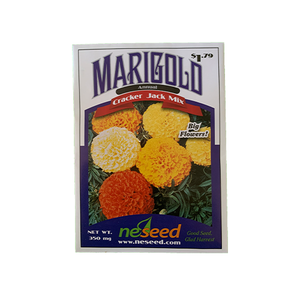 Marigold 'Crackerjack Mix'