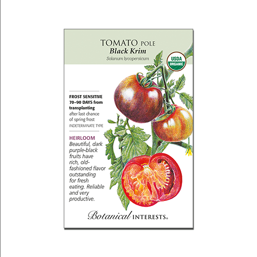 Pole Tomato 'Black Krim'