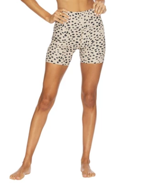 Taupe Spot Bike Short