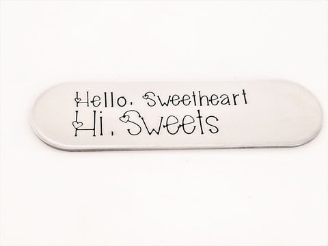 Hello Sweetheart - 3mm Lowercase